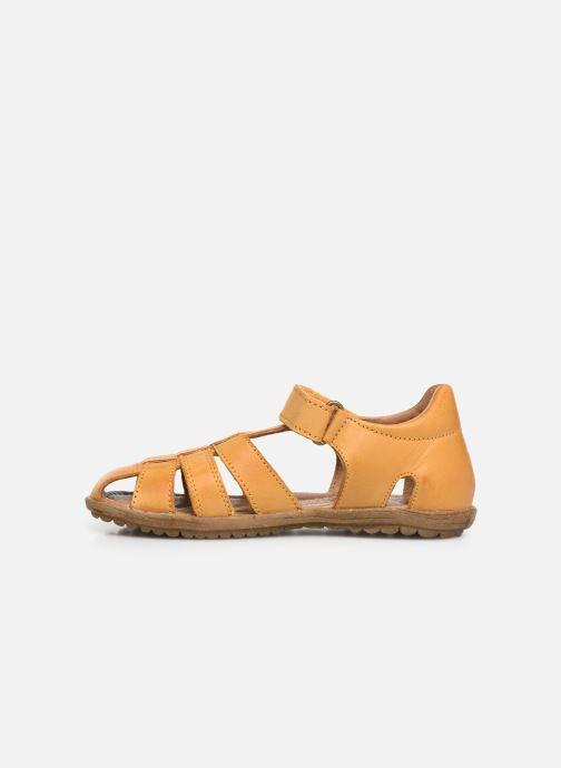 Sandales et nu-pieds Naturino See Jaune vue face