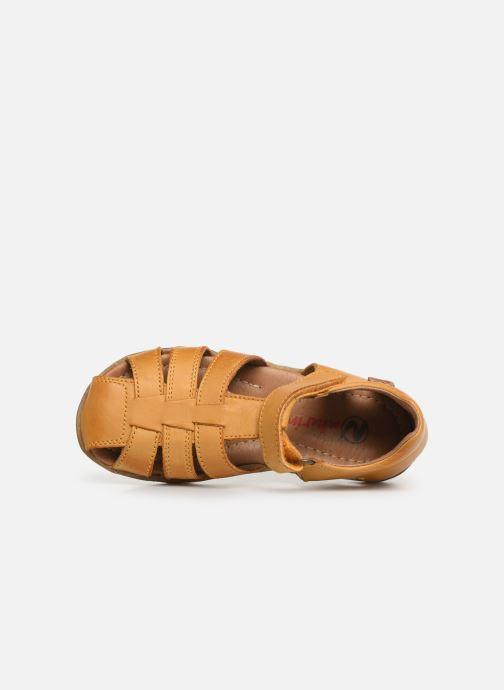 Sandales et nu-pieds Naturino See Jaune vue gauche