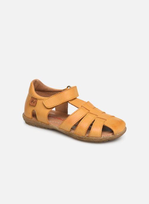 Sandales et nu-pieds Naturino See Jaune vue détail/paire