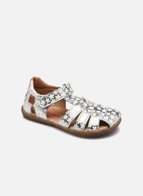 Sandales et nu-pieds Naturino See Argent vue détail/paire