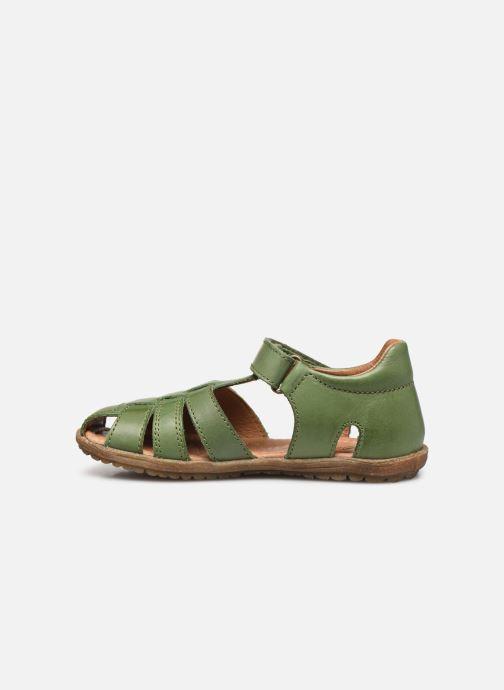 Sandales et nu-pieds Naturino See Vert vue face