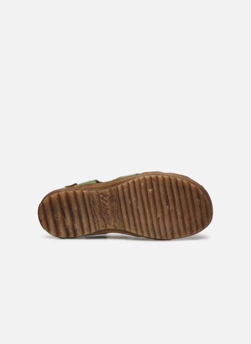Sandales et nu-pieds Naturino See Vert vue haut
