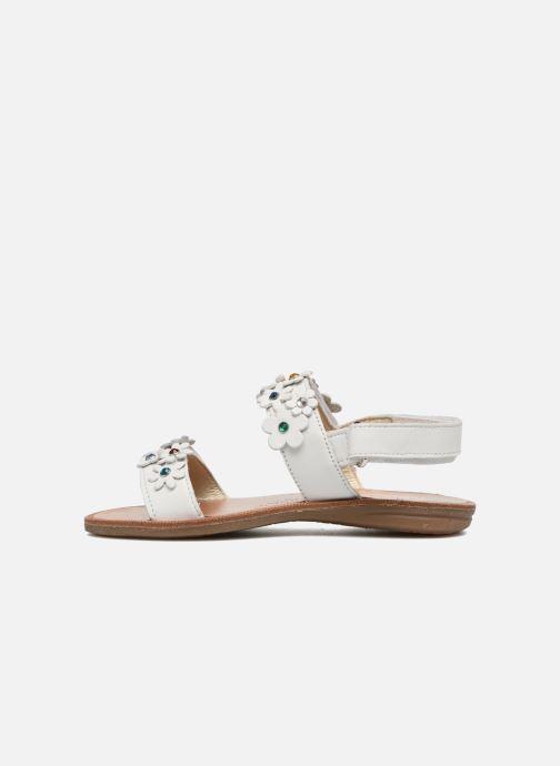 Sandales et nu-pieds Naturino Mila 5030 Blanc vue face