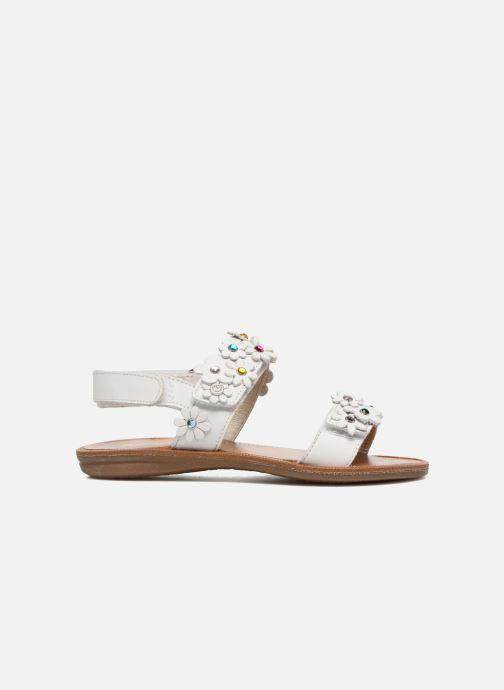 Sandales et nu-pieds Naturino Mila 5030 Blanc vue derrière
