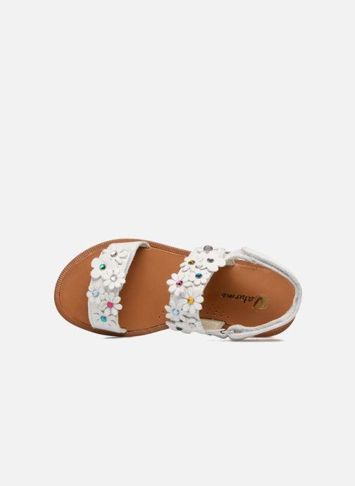 Sandales et nu-pieds Naturino Mila 5030 Blanc vue gauche