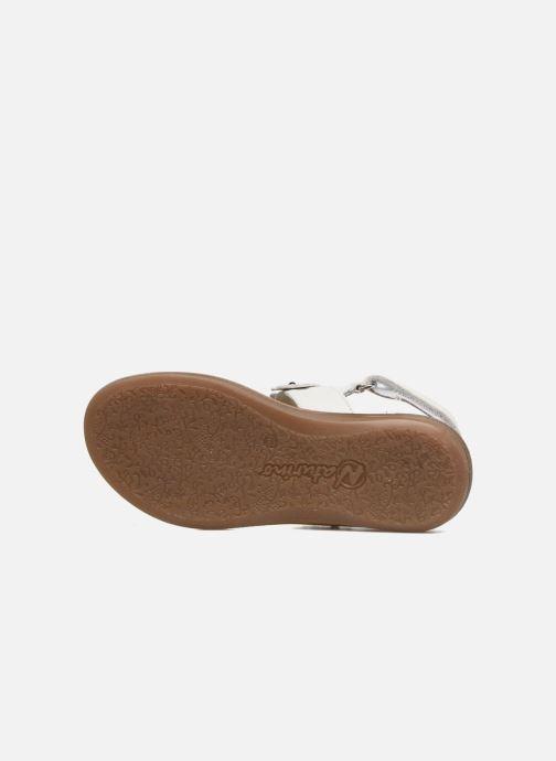 Sandales et nu-pieds Naturino Mila 5030 Blanc vue haut