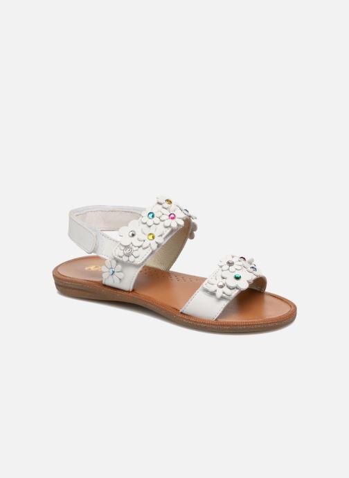 Sandales et nu-pieds Naturino Mila 5030 Blanc vue détail/paire