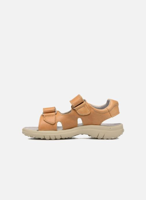 Sandales et nu-pieds Naturino Angelo 5675 Jaune vue face