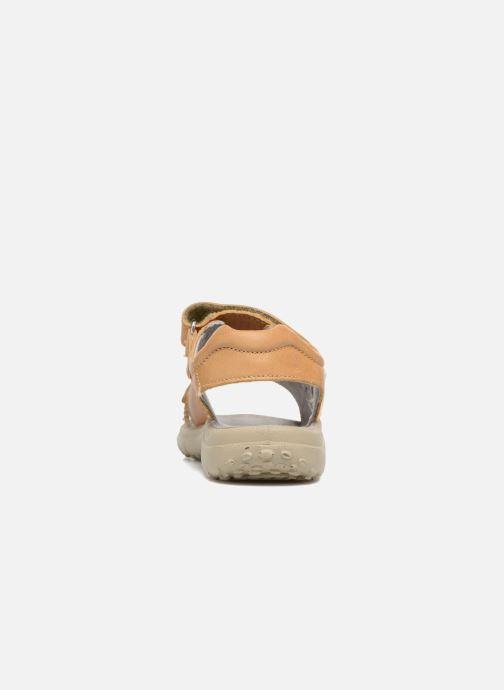 Sandales et nu-pieds Naturino Angelo 5675 Jaune vue droite