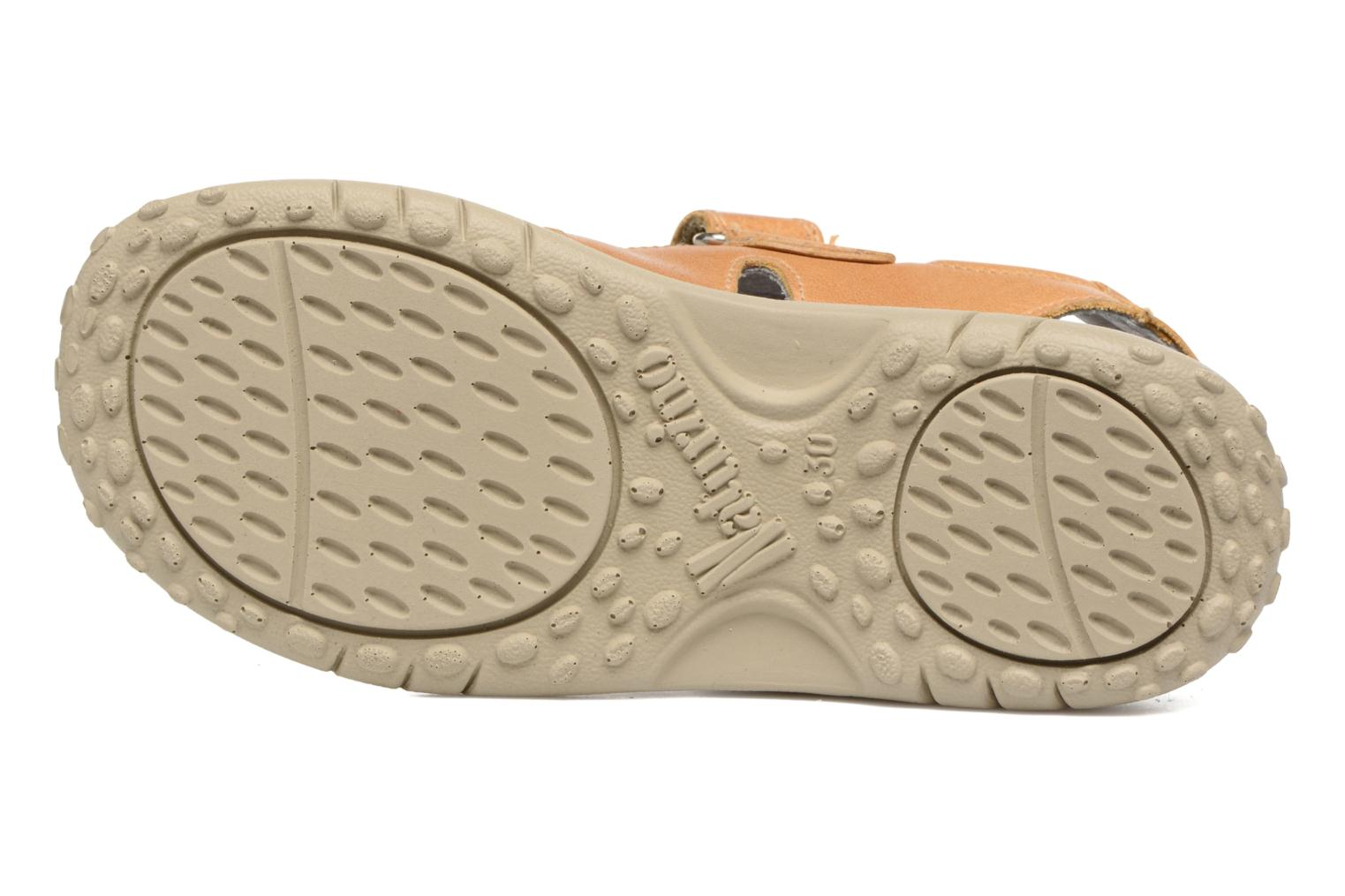 Sandals Naturino Angelo 5675 Yellow view from above