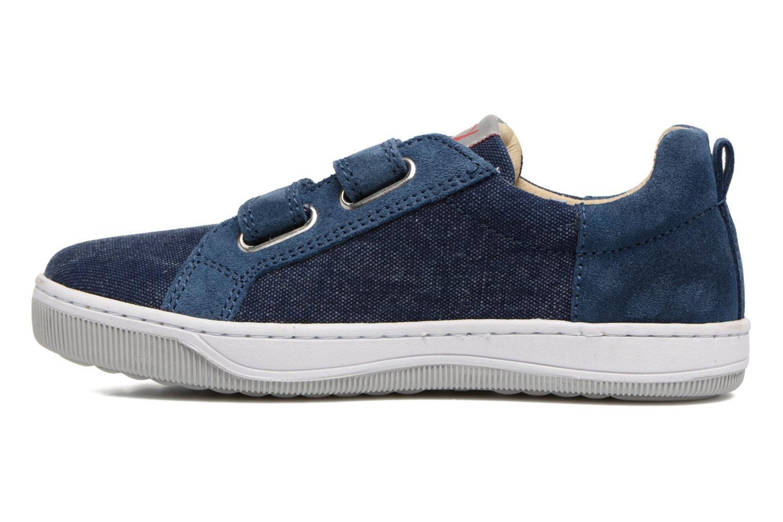 Sneakers Naturino Caleb VL Blå se forfra