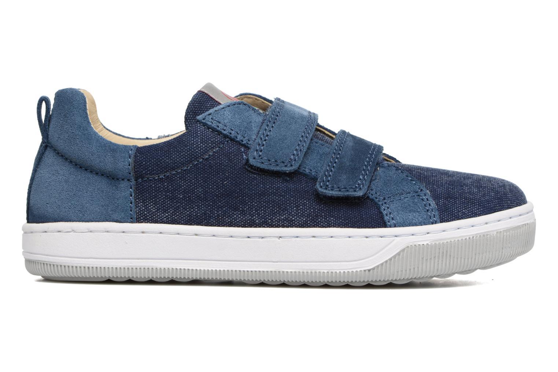 Sneakers Naturino Caleb VL Blå se bagfra