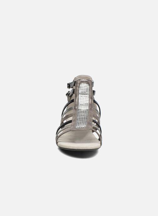 Sandales et nu-pieds Bullboxer Paula Gris vue portées chaussures