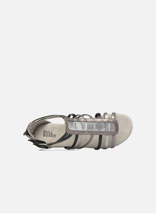 Sandales et nu-pieds Bullboxer Paula Gris vue gauche