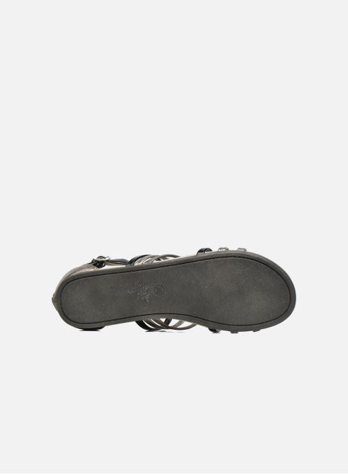 Sandales et nu-pieds Bullboxer Paula Gris vue haut