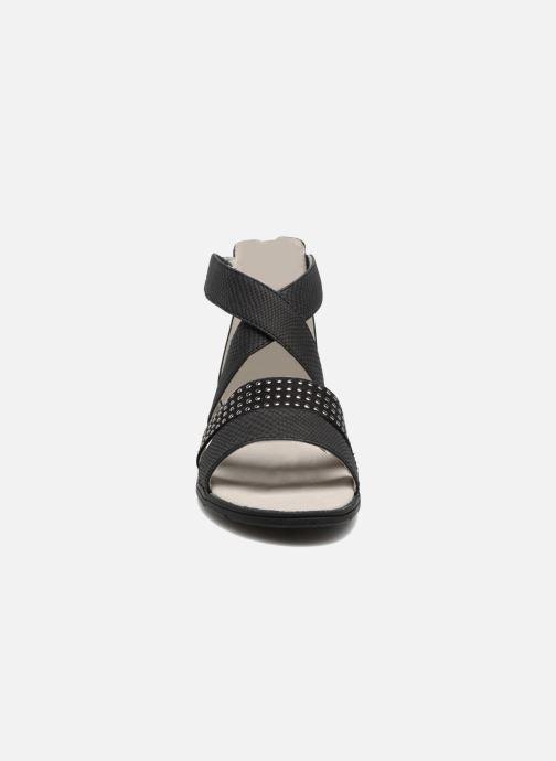 Sandales et nu-pieds Bullboxer Katia Noir vue portées chaussures