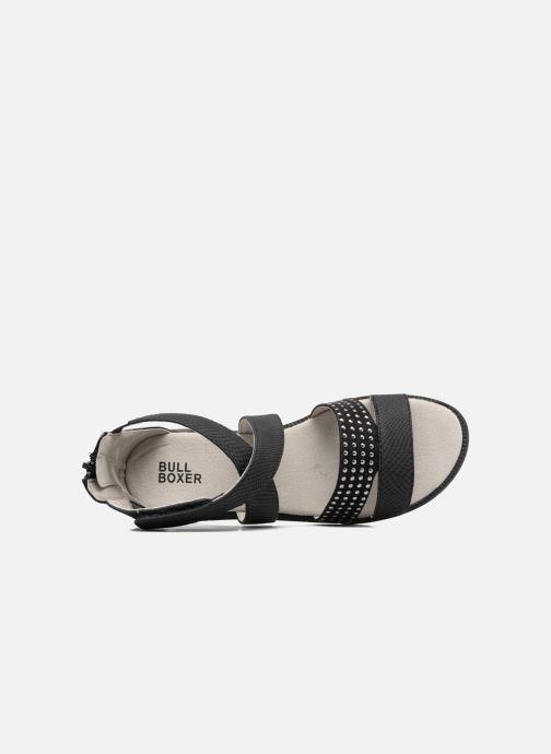 Sandales et nu-pieds Bullboxer Katia Noir vue gauche