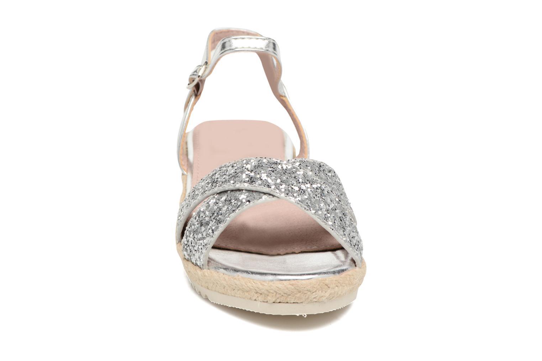Sandales et nu-pieds Xti Aldana Argent vue portées chaussures