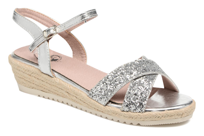 Sandales et nu-pieds Xti Aldana Argent vue détail/paire
