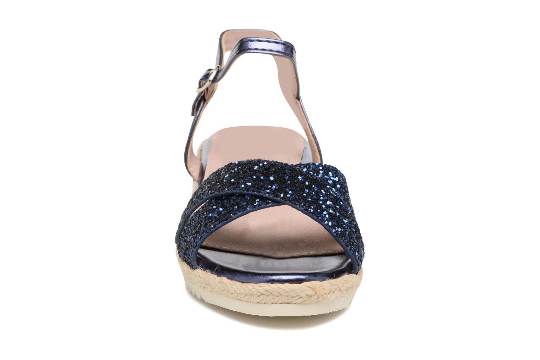 Sandales et nu-pieds Xti Aldana Bleu vue portées chaussures