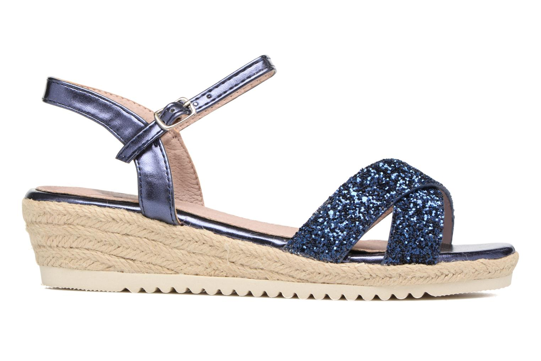 Sandales et nu-pieds Xti Aldana Bleu vue derrière