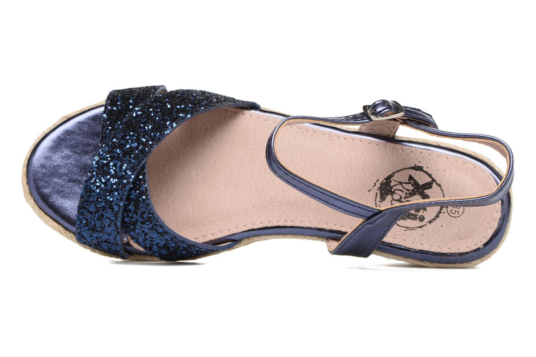 Sandales et nu-pieds Xti Aldana Bleu vue gauche