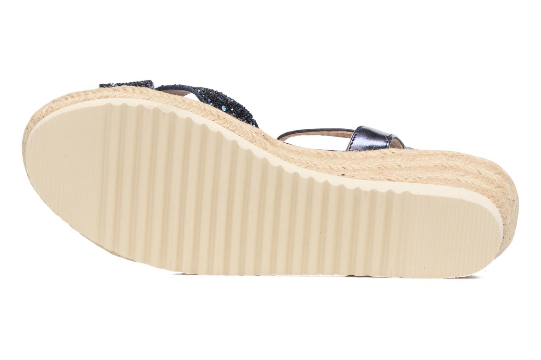 Sandales et nu-pieds Xti Aldana Bleu vue haut