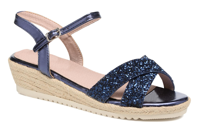 Sandales et nu-pieds Xti Aldana Bleu vue détail/paire