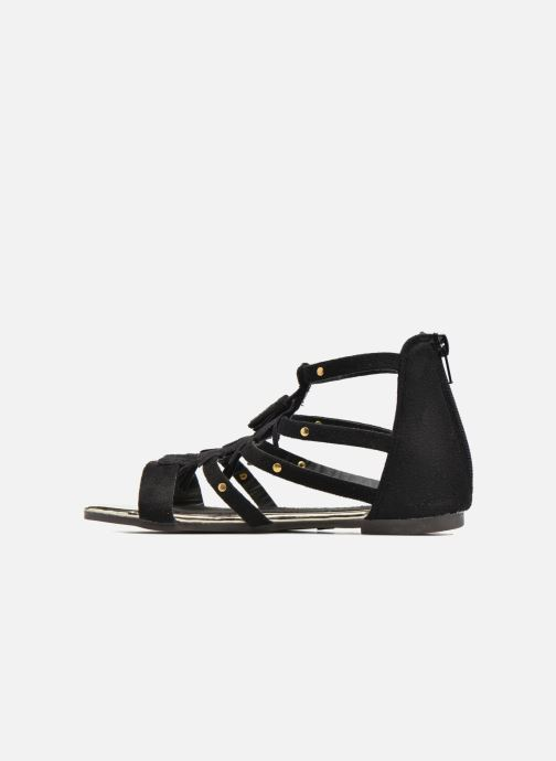 Sandales et nu-pieds Xti Hanna Noir vue face