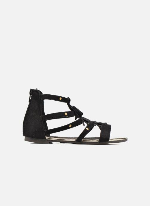 Sandales et nu-pieds Xti Hanna Noir vue derrière