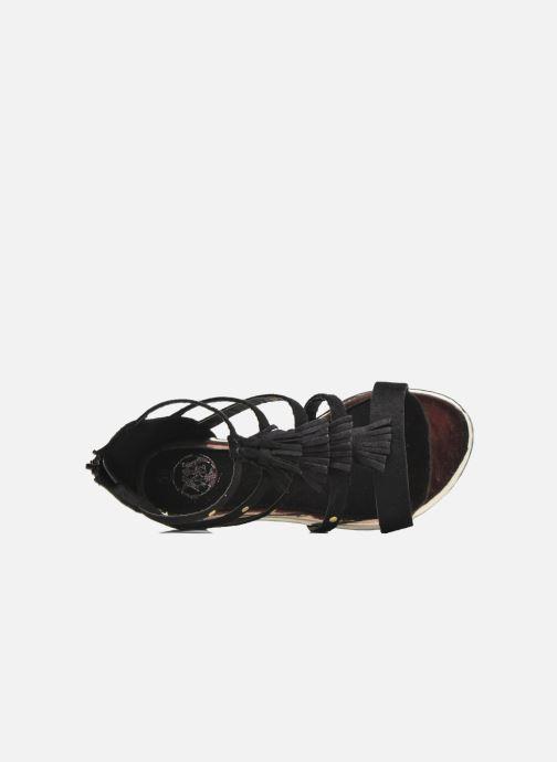Sandales et nu-pieds Xti Hanna Noir vue gauche