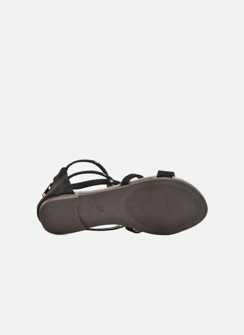 Sandales et nu-pieds Xti Hanna Noir vue haut