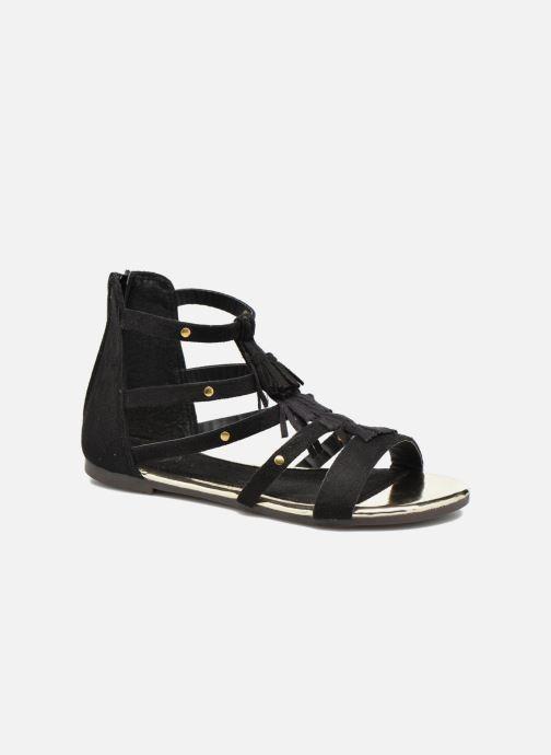 Sandales et nu-pieds Xti Hanna Noir vue détail/paire