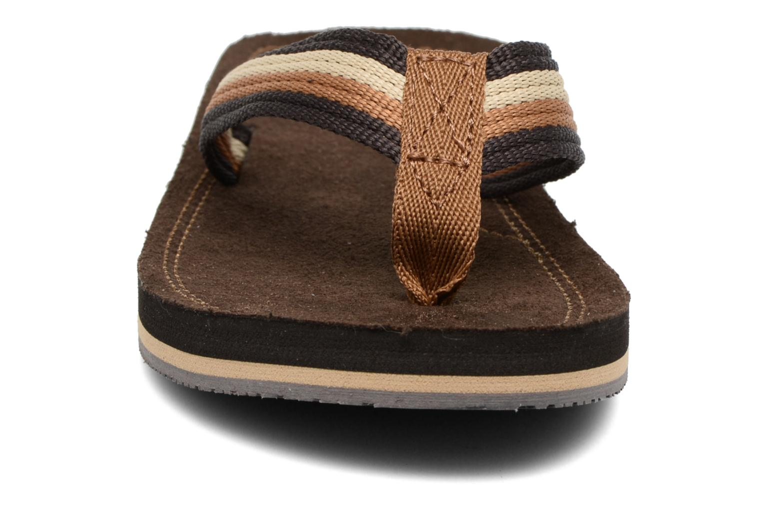 Flip flops Xti Andio Brown model view