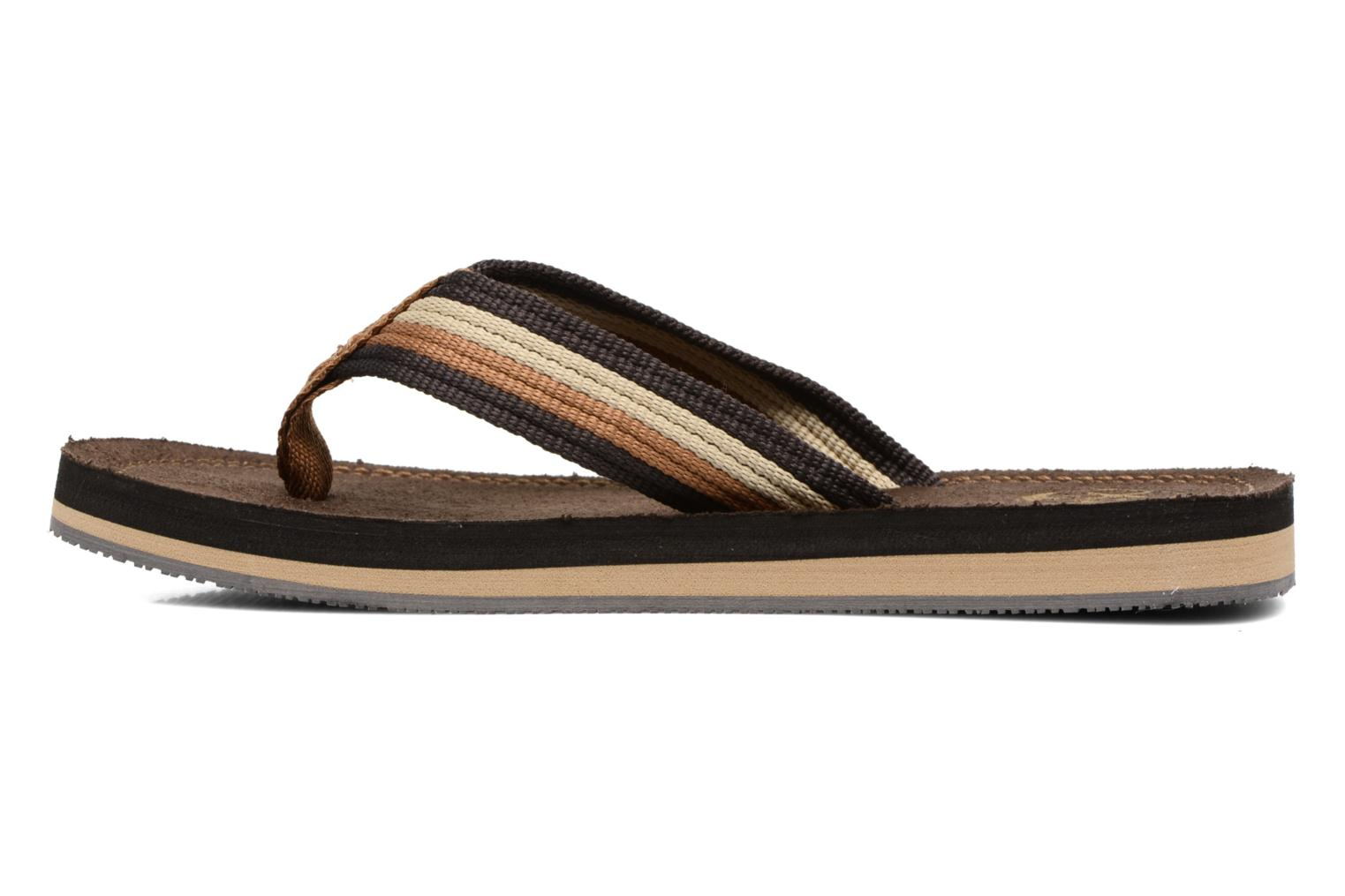 Flip flops Xti Andio Brown front view