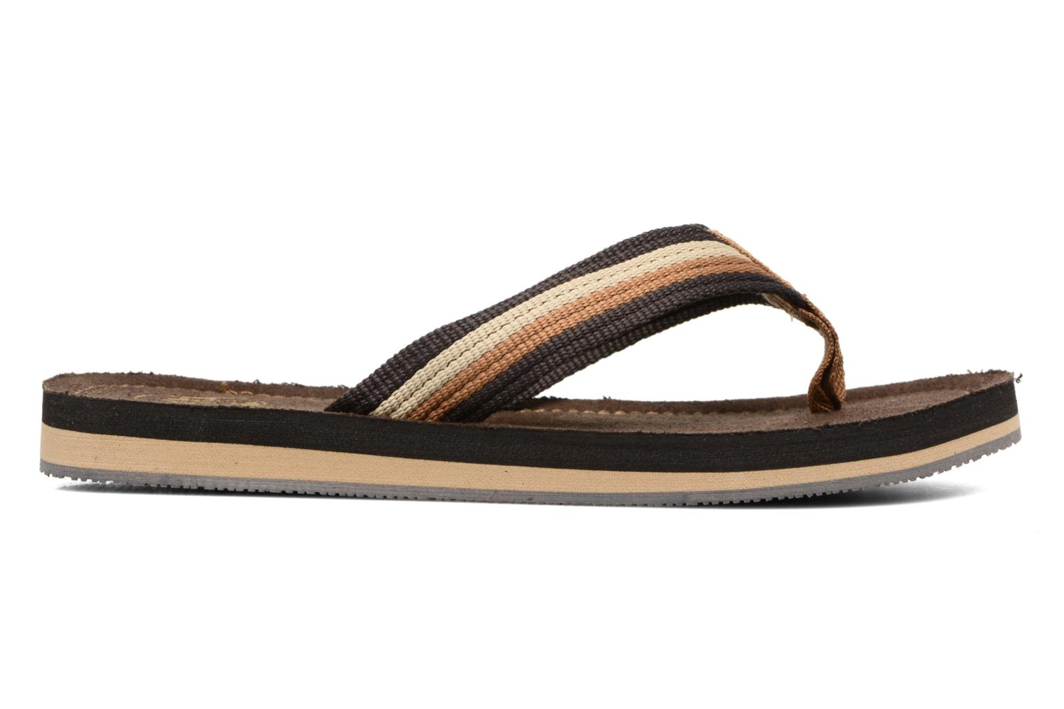 Flip flops Xti Andio Brown back view