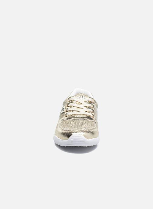 Baskets Xti Betty Or et bronze vue portées chaussures