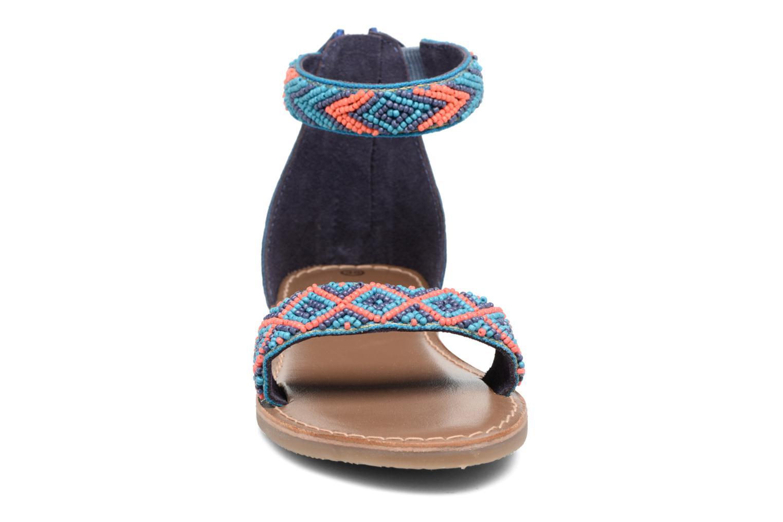 Sandales et nu-pieds Xti Brigida Bleu vue portées chaussures