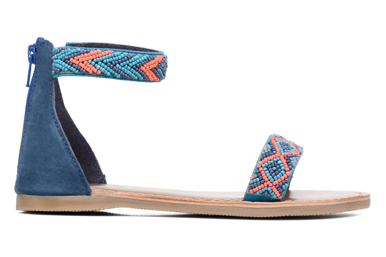 Sandales et nu-pieds Xti Brigida Bleu vue derrière
