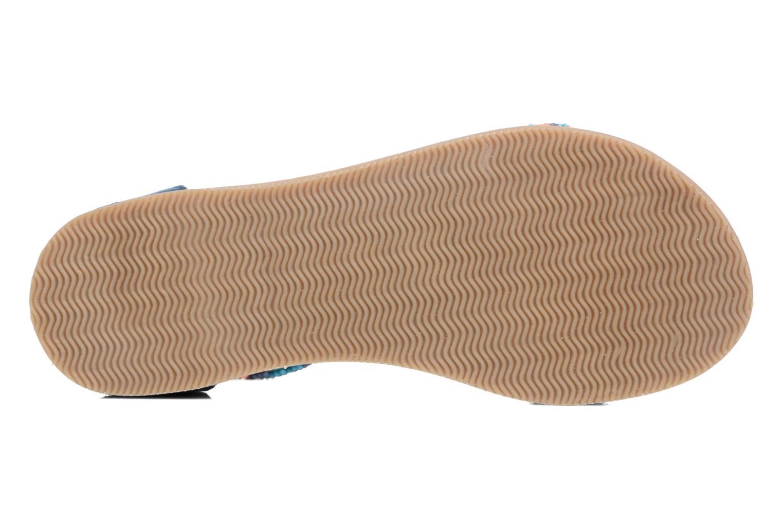 Sandales et nu-pieds Xti Brigida Bleu vue haut