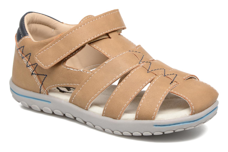 Sandaler Xti Cirilo Brun detaljeret billede af skoene