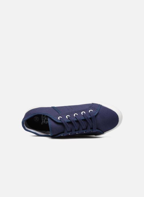 Deportivas I Love Shoes GOLCAN Azul vista lateral izquierda