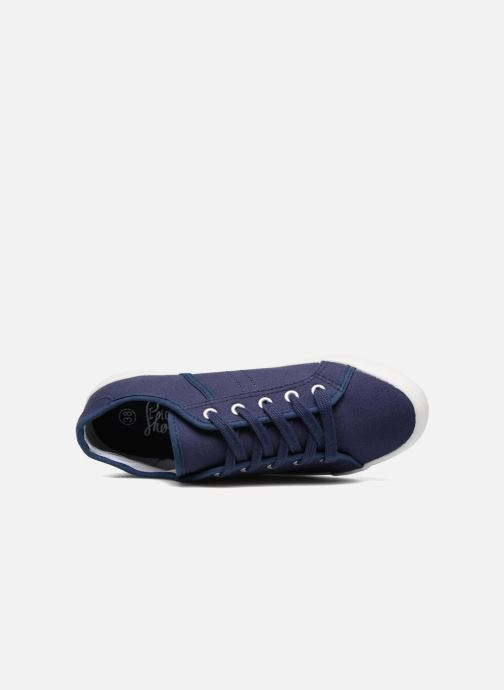 Sneakers I Love Shoes GOLCAN Azzurro immagine sinistra