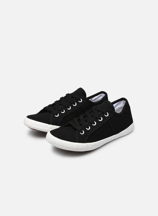 Baskets I Love Shoes GOLCAN Noir vue bas / vue portée sac