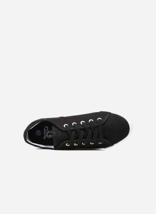 Sneaker I Love Shoes GOLCAN schwarz ansicht von links