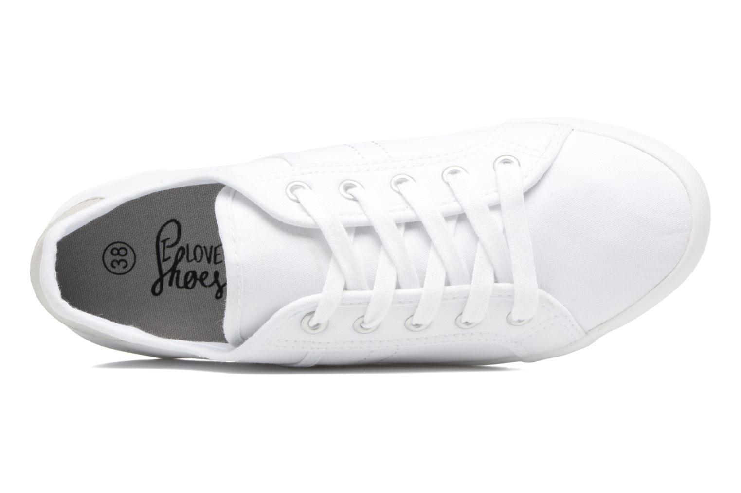 Baskets I Love Shoes GOLCAN Blanc vue gauche