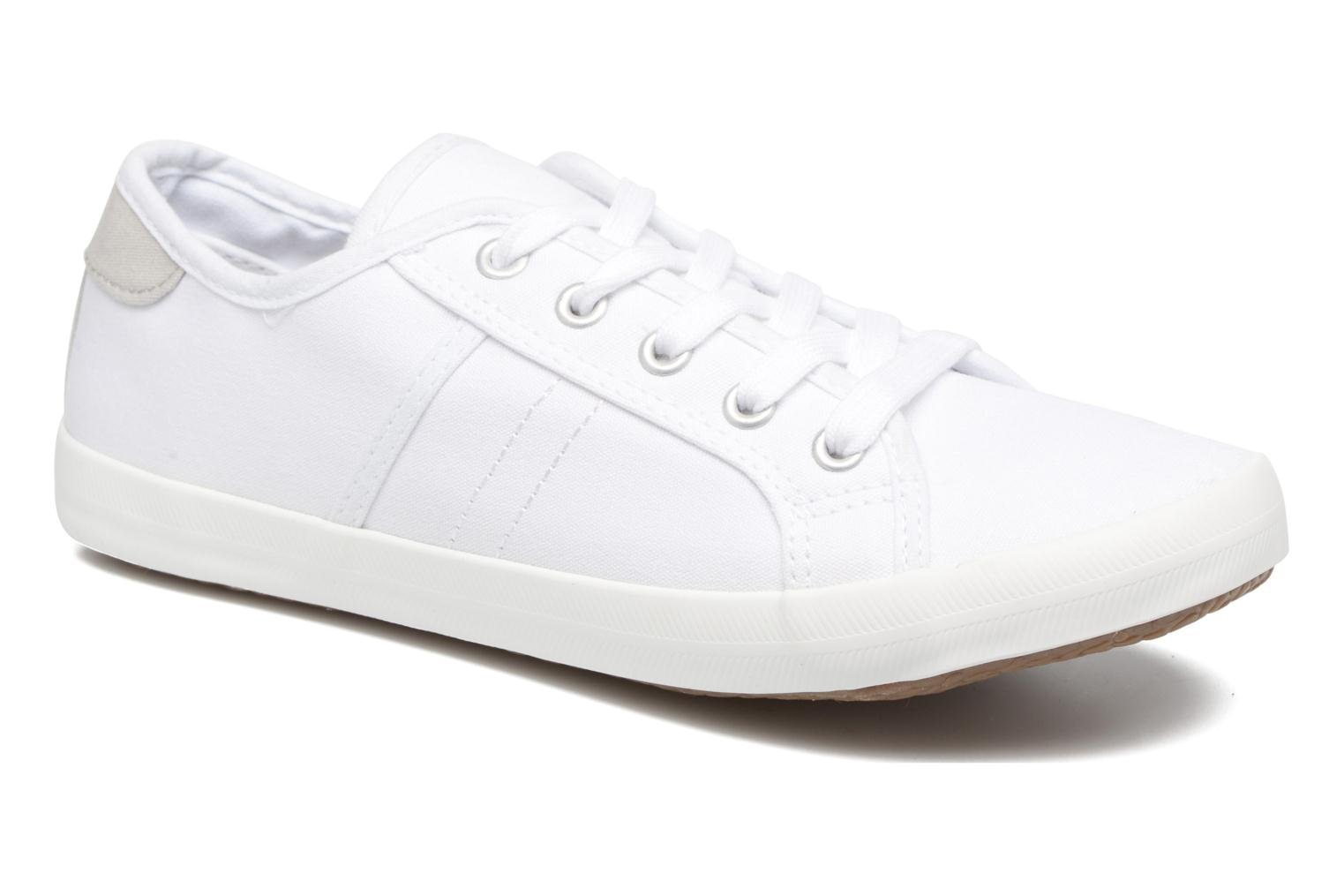 Baskets I Love Shoes GOLCAN Blanc vue détail/paire