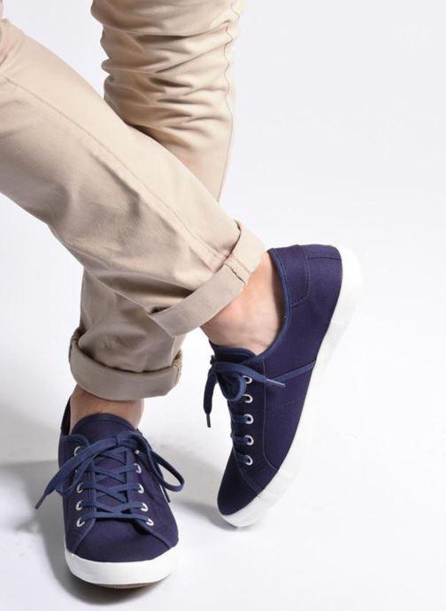 Baskets I Love Shoes GOLCIN Bleu vue bas / vue portée sac