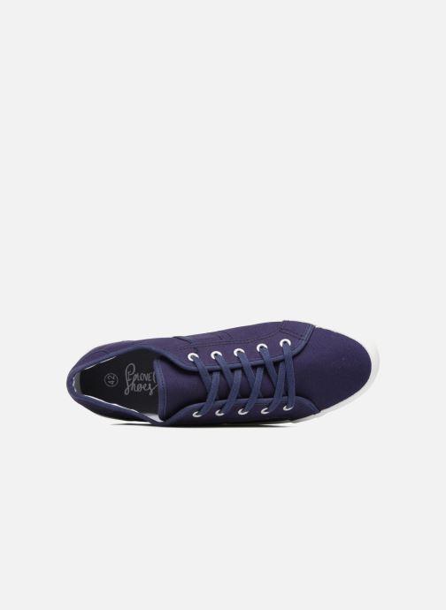 Deportivas I Love Shoes GOLCIN Azul vista lateral izquierda