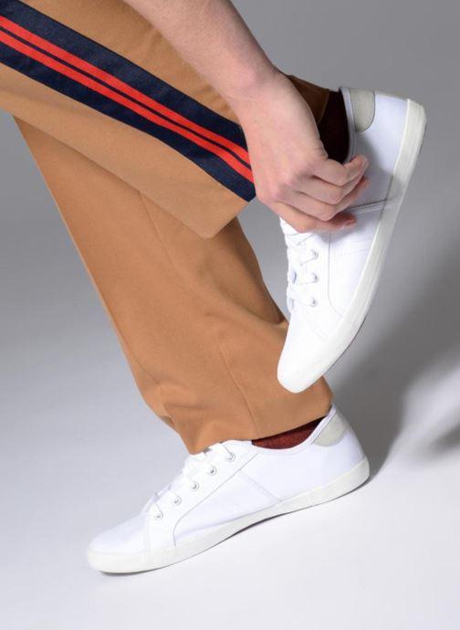 Baskets I Love Shoes GOLCIN Blanc vue bas / vue portée sac
